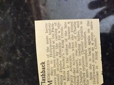 m3b ephemera 1959 small article king creole minta durfee arbuckle king creole