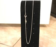 Pandora #590412-45 Chain Necklace Sterling Silver Adjustable 45 CM / 17.7 Inches