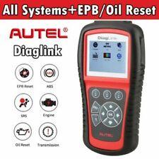 ABS SRS Scanner Automotive Diagnostic Scan Tool OBD2 EOBD Code Reader All System