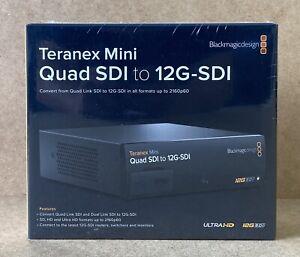 Blackmagic Design Teranex Mini - Quad SDI to 12G SDI Brand New Sealed