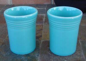 "Fiesta 2 Turquoise 3 3/4""  Water Juice Tumblers"