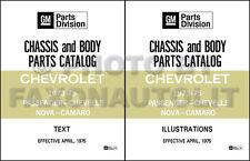 Chevy Parts Catalog 1973 1974 1975 Chevelle El Camino Monte Carlo Malibu Laguna