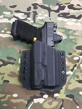 Black Kydex Light Bearing Holster for Glock 19 23 32 Inforce APL