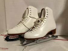 Riedell 320 Figure Skates w/Mk Professional Freestyle Blades Women's Size 6