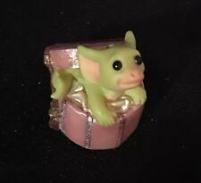 "Pocket Dragons ""Hatbox Hideaway"" by Real Musgrave 2000 Mint Condition No Box"