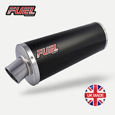 14-16 RC200 High Level Classic Black Stainless Oval Mini UK Street Legal Exhaust