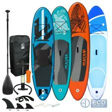 Stand up paddle board SUP surfboard pagaia gonfiabile 305-320 cm in vari colori