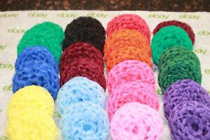 25 Nylon Scrubbies double sided pot scrubbers scrubbies very tough Petticoat