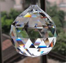 30MM Crystal Glass Chandelier Pendant Light Ball Prisms Suncatcher Drop