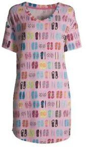 Secret Treasures Women's Pink Flip Flop sleep shirt NWT 2X-3X Plus Size Soft