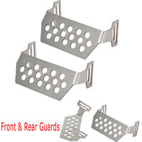 For 1/10 Redcat GEN8 Scout II RC Crawler Front & Rear Chassis Guard Skid Plates