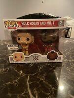 Hulk Hogan & Mr. T, Hulkamania 2-Pack! Amazon Exclusive! Funko Pop! WWE IN HAND