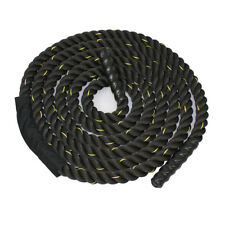 """1.5"""" Polyester 40ft Battle Rope Workout Cardio Core Strength Training Fitness"""