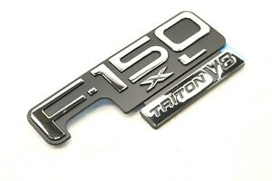 NEW OEM Ford F-150 XL Triton V8 Fender Badge Emblem F85Z-16720-DA F150 1998-2003