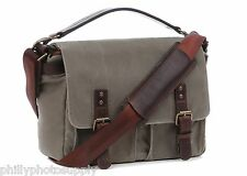 ONA Prince Street Smoke Canvas Camera / Messenger Bag ->Handcrafted Premium Bags