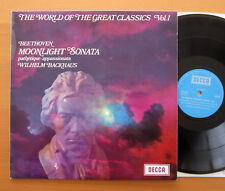SPA 69 The World Of The Great Classics Vol. 1 Backhaus Beethoven NM Decca
