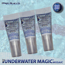 underwater swimming pool adhesive and sealant, color: white 3 x 60g