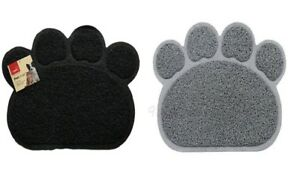 Pet Feeding Mat Paw Shape Small Dog/Puppy/Cat/Kitten Food Bowl/Dishes Place mat