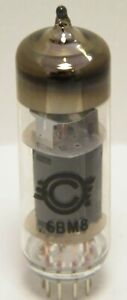 Winged C Svetlana 6BM8 ECL82 triode pentode electron valve tube