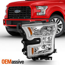 New listing Fit 2015 2016 2017 Ford F150 Driver Left Side Halogen Type Headlight Replacement