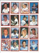 1982 O-Pee-Chee Baseball Sticker Lance Parrish #188 Detroit Tigers *MINT*