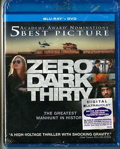 ZERO DARK THIRTY • Jessica Chastain • Dir: Kathryn Bigelow • Blu-Ray / DVD Combo