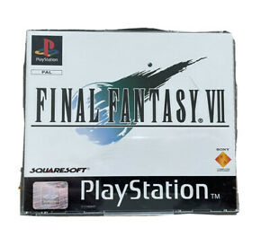 FINAL FANTASY VII 7 PAL Playstation PS1 Original 3 discs With manual !! Tested