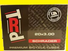 "20""x3.00"" DURO Bicycle Tube Schrader BMX CRUISER CHOPPER Bike TRAILER STOLLER"