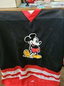 Vintage MICKEY MOUSE Disney GENUS 90's Hockey Jersey Size XL