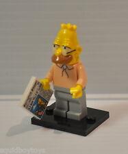 ABE SIMPSON (The Simpsons) Lego Series 1 MiniFig / Minifigure complete