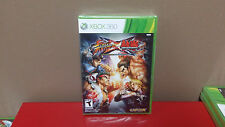 ** Street Fighter X Tekken Microsoft Xbox 360 BRAND NEW Factory Sealed