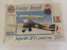 Airfix Sopwith 2F1 Camel 1918 1/72 Scale Model New & Sealed 01075