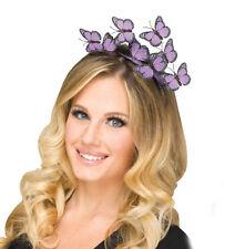 Butterfly Headband Purple Sexy Fairy Princess Womens Adult Costume Accessory
