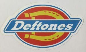 x2 Deftones Music Band Logo Sticker Decal Vinyl Rock Metal Punk Car
