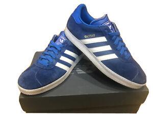Men's Adidas Gazelle  Trainers Size 9 Blue
