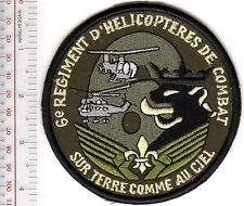 France Army Aviation ALAT 6th Combat Helicopter Regiment Armee de Terre Francais