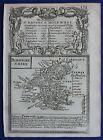 PEMBROKESHIRE, WALES original antique map from 'Britannia Depicta', Bowen, 1759