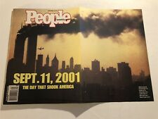 September 24 2001 PEOPLE Magazine 9/11 No Label DAY SHOOK AMERICA Twin Towers
