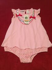 First Impressions, Infant Girls, One Piece, Pink, inlay necklace design, Nwt