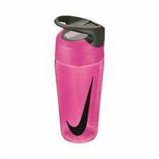 Nike Straw Water Bottle 16oz BPA Free Pink/Cool Grey/Black