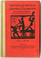 THE DEVIL'S DEVICES • ERIC GILL • DOUGLAS PEPLER • 1915 • ÉDITION ORIGINALE