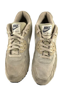 Nike Air Max Tan Leather Suede Men's Size 10.5 Good Preowned 537384-099