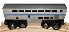 Wooden Amtrak Sleeper Train Transitional Superliner Sleeping Car 4.25 inch