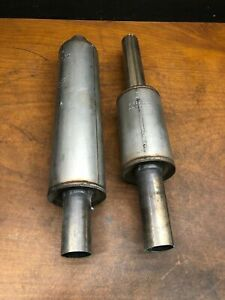 2004 Rolls Royce Phantom Front Exhaust Silencer Down Pipe 7522504 7519392 OEM