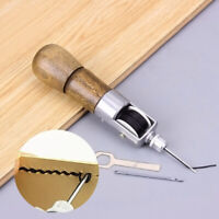 UK_ Craft Tool Carving Wax Line Hand Made Leather Art Needle Sewing Machine 133m