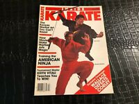 DEC 1985 INSIDE KARATE martial arts magazine - AMERICAN NINJA