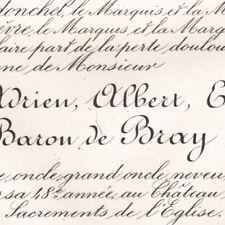 Ernest Adrien Albert Eugène De Bray Montgeroult 1885