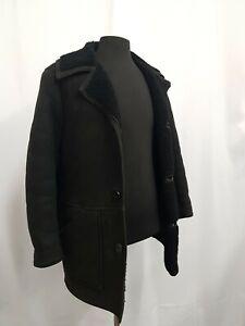Men's Vintage Antartex Sheepskin Coat Size Small 40