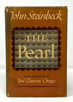 John Steinbeck - The Pearl - 1st 1st w/ 1st STATE DJ - Author Of Mice and Men
