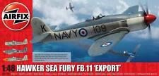 """Airfix Hawker SAE Fury FB.11 """" Export """" Avion 1:48 Kit de Montage Art. A06106"""